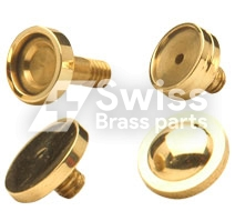 Brass Pen Top Button