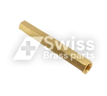 Brass Hex Spacer