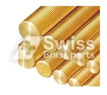 Brass Knurling Rod