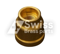 Brass Pipe Coupler