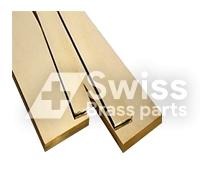 Flat Brass Rod