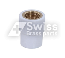 UPVC Brass Coupler