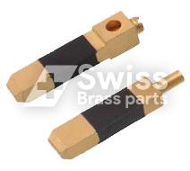 Messing Plug Pin Flat