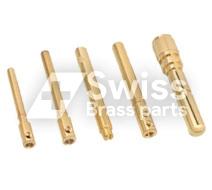 Messing Plug Pin Round