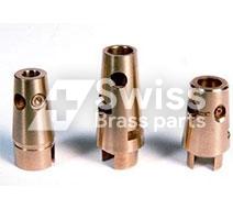 LPG-gaskraan conische plug