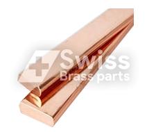 Kupfer rechteckige Bar