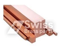 Kupfer Vierkant Bar